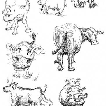 July 20 – Cows