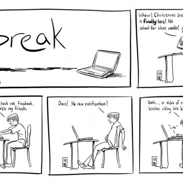 "Introducing ""Break"", a mini web comic"