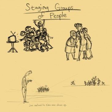 #4: Staging groups of people